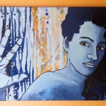 Autoportrait - Mordre la lumière